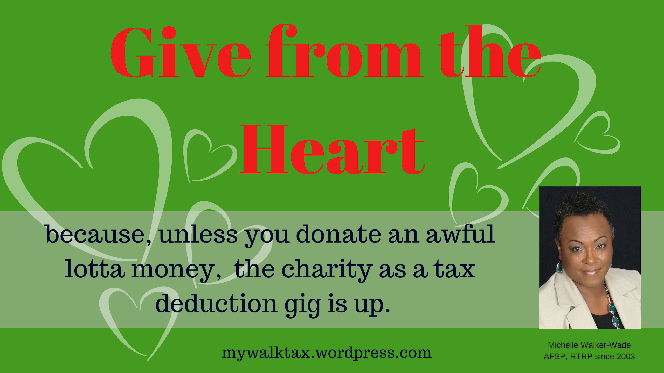 Business Charitable Contributions
